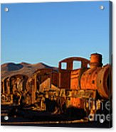 End Of An Era Acrylic Print by James Brunker