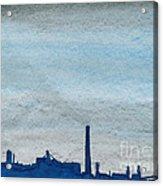 Energy Acrylic Print by R Kyllo