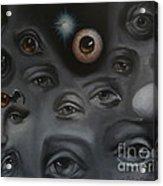 Enter-preyes Acrylic Print by Lisa Phillips Owens