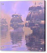 Enveloped By Fog Acrylic Print by Claude McCoy