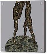 erotic acrobatics 3EA 1 Acrylic Print by Pemaro