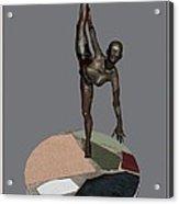 erotic acrobatics 7EA 1 Acrylic Print by Pemaro