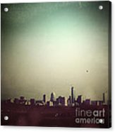 Escaping The City Acrylic Print by Trish Mistric
