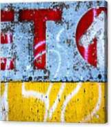 ET  Acrylic Print by Bob Orsillo
