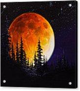 Ettenmoors Moon Acrylic Print by C Steele