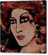 Eva Acrylic Print by Natalie Holland