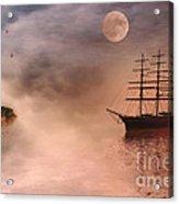 Evening Mists Acrylic Print by John Edwards
