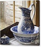 Ewer And Basin Acrylic Print by Michael DeFreitas