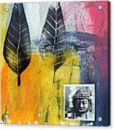 Exhale Acrylic Print by Linda Woods