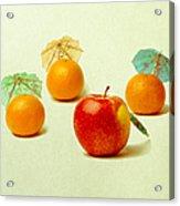 Exotic Fruit - Square Acrylic Print by Alexander Senin