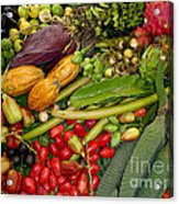 Exotic Fruits Acrylic Print by Carey Chen