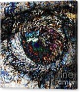 Eye Of A Hurricane Called You Acrylic Print by Elizabeth McTaggart