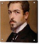 Fabbri Paolo Egisto, Self-portrait Acrylic Print by Everett