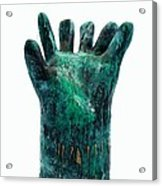 Fabulas Malachite Hand Acrylic Print by Mark M  Mellon