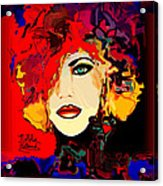 Face 14 Acrylic Print by Natalie Holland