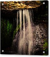 Fairy Falls Acrylic Print by Loriental Photography