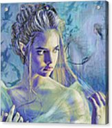 Fairy Queen Acrylic Print by Jane Schnetlage