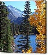 Fall At Bear Lake Acrylic Print by Tranquil Light  Photography