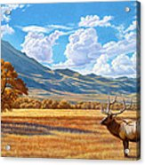 Fall In Paradise Valley Acrylic Print by Paul Krapf