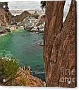 Falling Into The Bay Acrylic Print by Adam Jewell