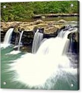 Falling Waters Falls 4 Acrylic Print by Marty Koch