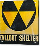 Fallout Shelter Acrylic Print by Olivier Le Queinec