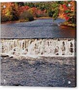 Falls Color Acrylic Print by Joann Vitali