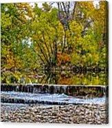 Falls Fall-2 Acrylic Print by Baywest Imaging