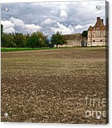 Farm Castle Acrylic Print by Olivier Le Queinec