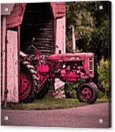 Farmall 200 Acrylic Print by Robert Geary