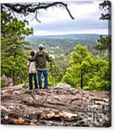 Father And Son Acrylic Print by Tamyra Ayles