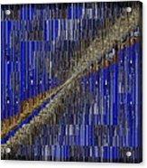Fault Line Blues Acrylic Print by Tim Allen