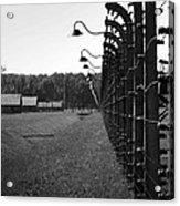 Fence Of Death Acrylic Print by Mountain Dreams