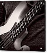 Fender Bass Acrylic Print by Bob Orsillo
