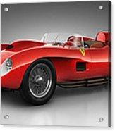 Ferrari 250 Testa Rossa - Spirit Acrylic Print by Marc Orphanos