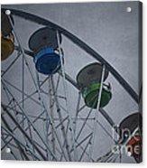 Ferris Wheel Acrylic Print by Dave Gordon