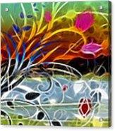 Festival Acrylic Print by Ann Croon