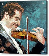 Fiddling Around Acrylic Print by Anthony Falbo