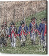 Field Of Honor American Revolution Acrylic Print by Randy Steele