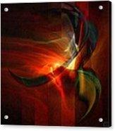 Fiery Flight Acrylic Print by Gun Legler