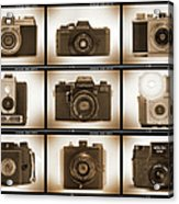 Film Camera Proofs 3 Acrylic Print by Mike McGlothlen