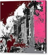Film Homage D.w. Griffith Intolerance 1916 Fall Of Babylon 1916-2012  Acrylic Print by David Lee Guss