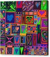 Find U'r Love Found Acrylic Print by Kenneth James