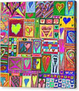 find U'r love found v6 Acrylic Print by Kenneth James