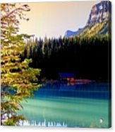 Finding Inner Peace Acrylic Print by Karen Wiles