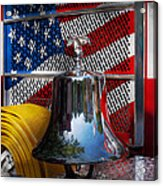 Fireman - Red Hot  Acrylic Print by Mike Savad