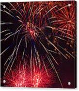 Firework Majesty  Acrylic Print by Garry Gay