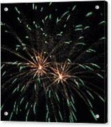 Fireworks 29 Acrylic Print by Staci Bigelow