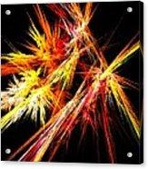 Fireworks Acrylic Print by Anastasiya Malakhova