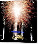 Fireworks Finale Acrylic Print by Frozen in Time Fine Art Photography